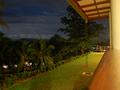 Night time view from Serene Villa, Ratnapura