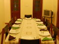 Main Dining Area at Serene Villa, Ratnapura