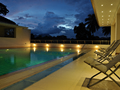 View of the pool at Serene Villa, Ratnapura